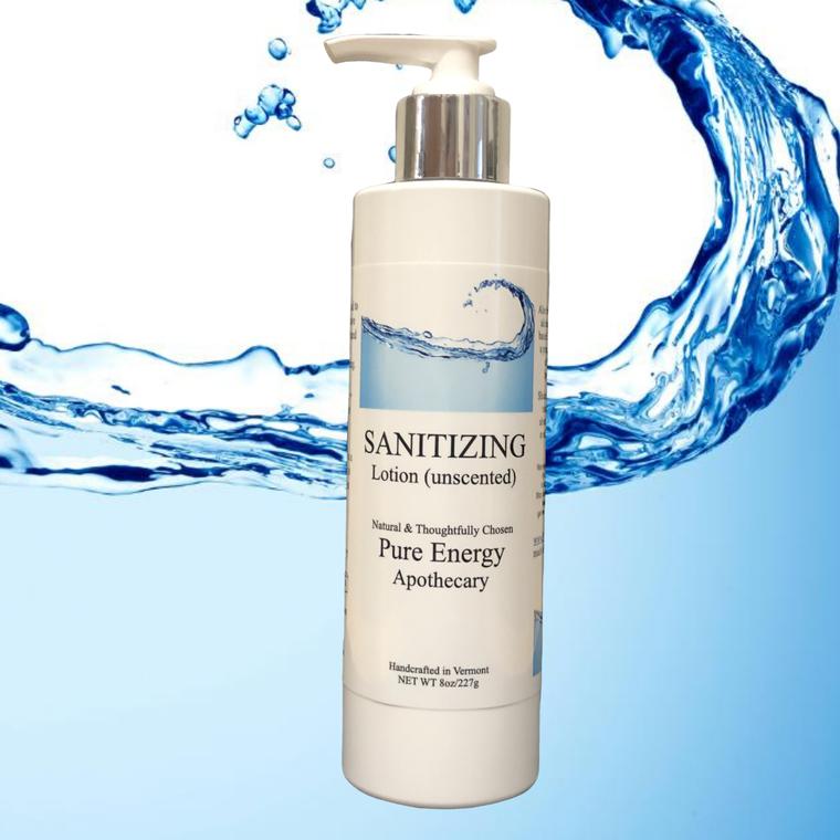 Hand Sanitizer Lotion - 8 oz (unscented)