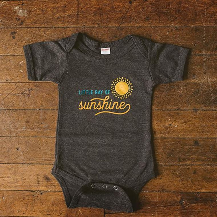 Ray of Sunshine Baby Bodysuit