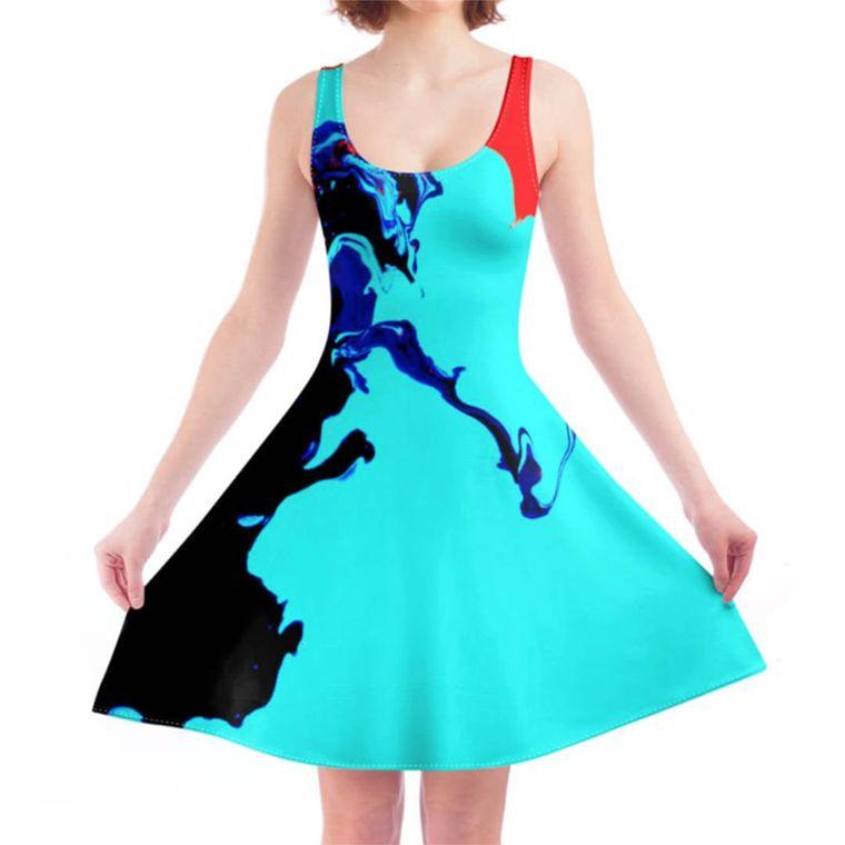 LiquiSkater Dress Opparine