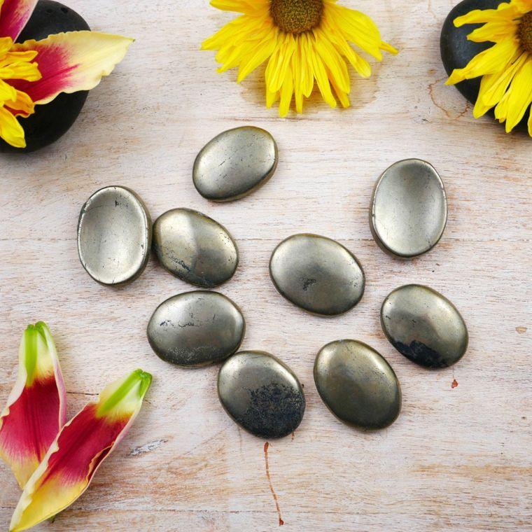 Pyrite Worry Stones