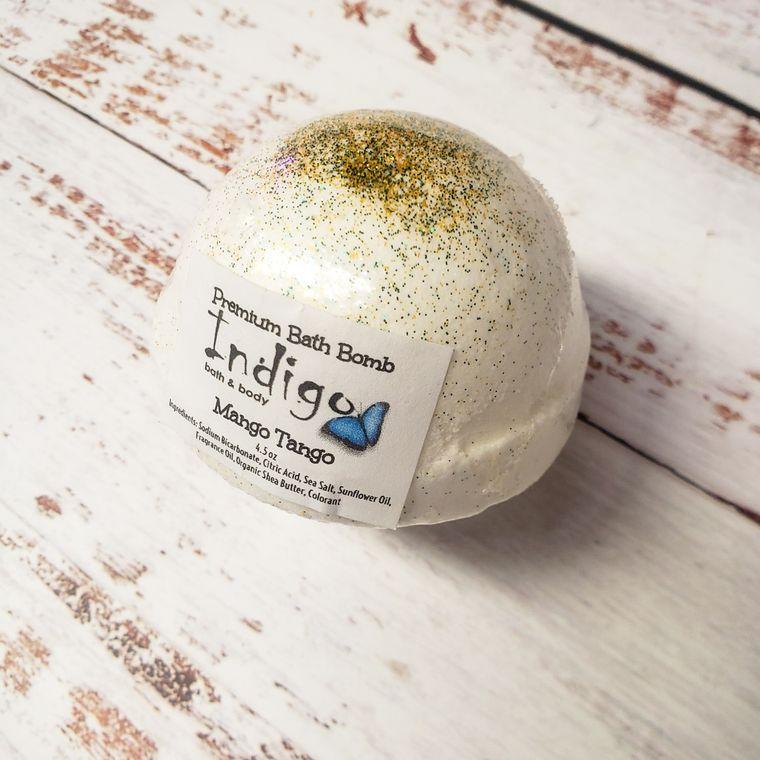 Bath Bomb (Shea Butter) - Mango Tango