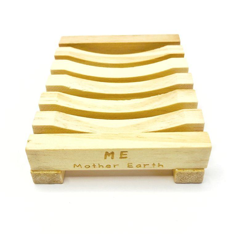 Natural wood bamboo soap dish | Eco-Friendly | Zero Waste