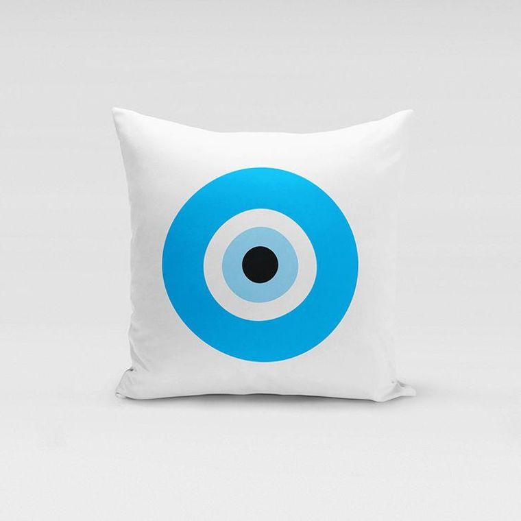 Evil Eye Pillowcases - Made in Greece