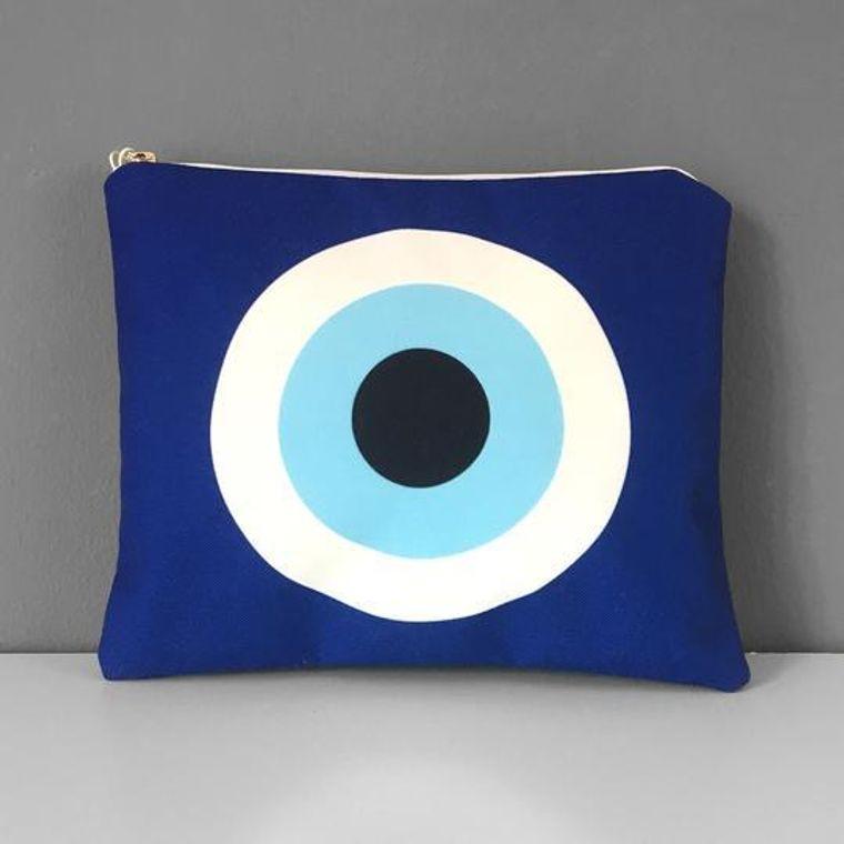 Evil Eye Cosmetic Purse | Made in Greece