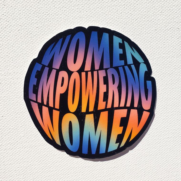 Women Empowering Women Sticker