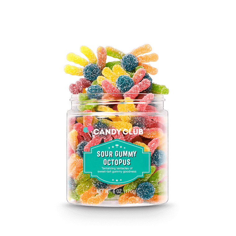 Sour Gummy Octopus