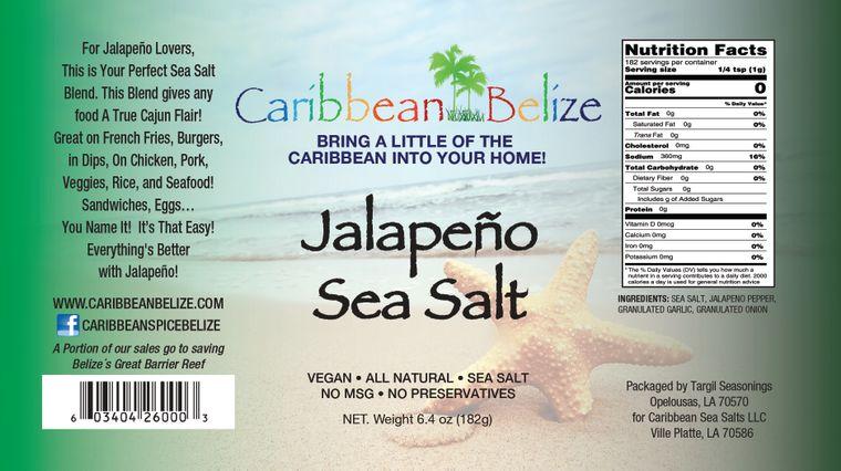 Jalapeno Sea Salt