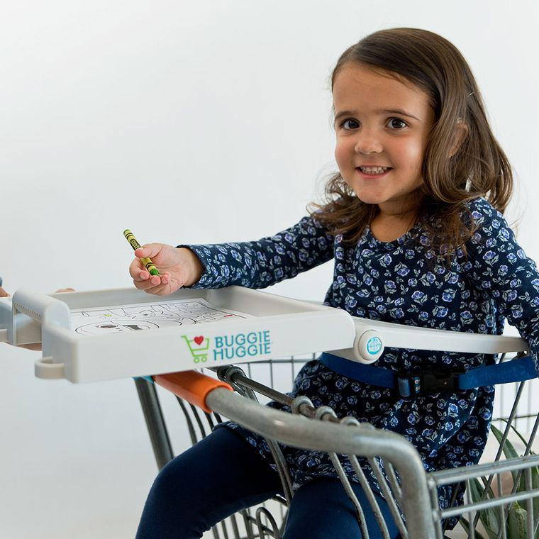 Buggie Huggie™ Shopping Cart Tray