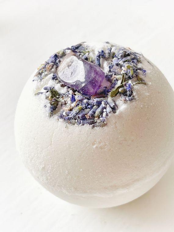 Amethyst & Lavender Bath Bomb