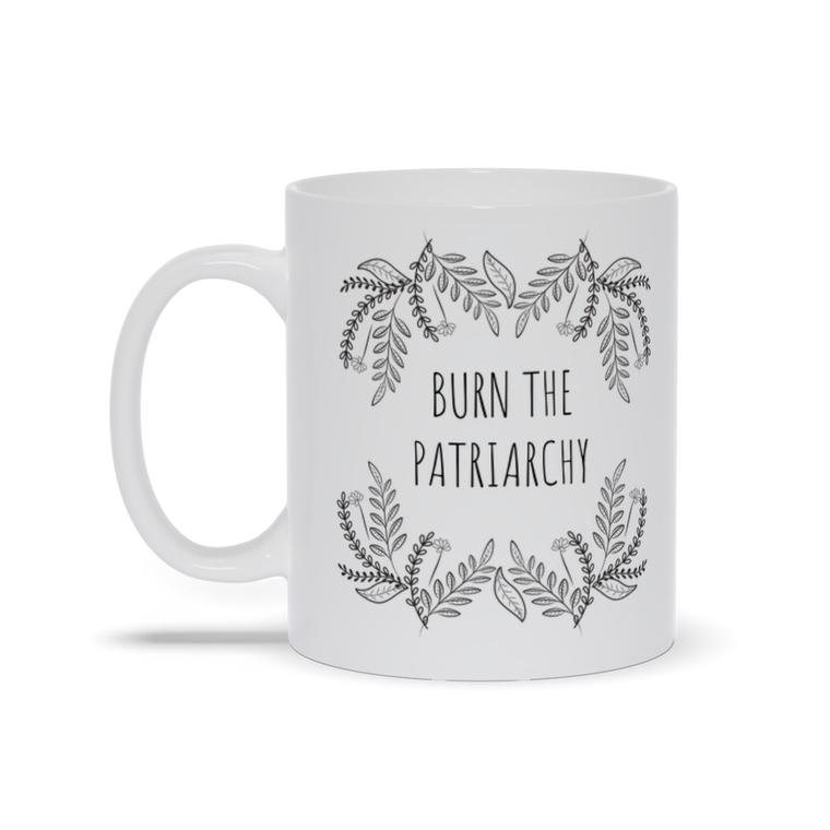 Burn the Patriarchy Coffee Mugs
