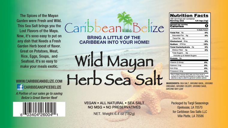 Wild Mayan Herb Sea Salt