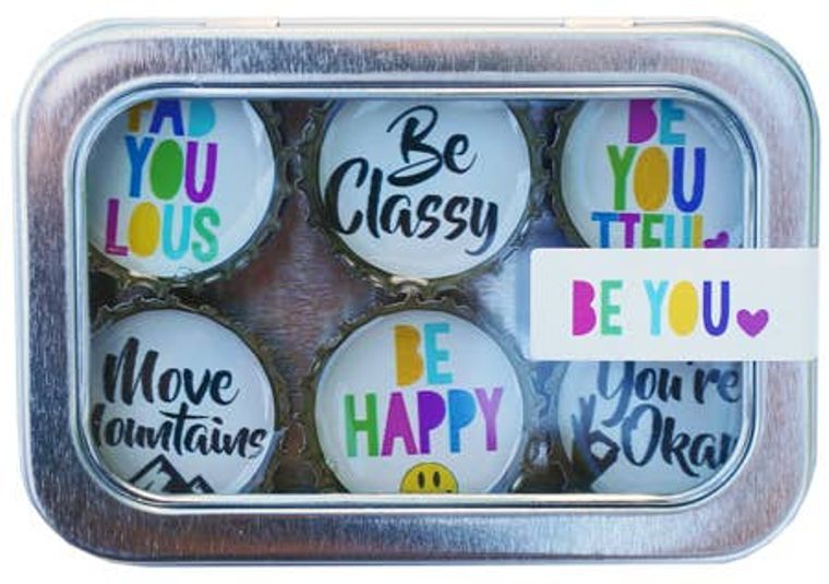 Be You Magnet - Six Pack