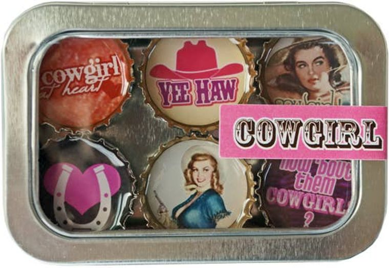 Cowgirl Magnet - Six Pack