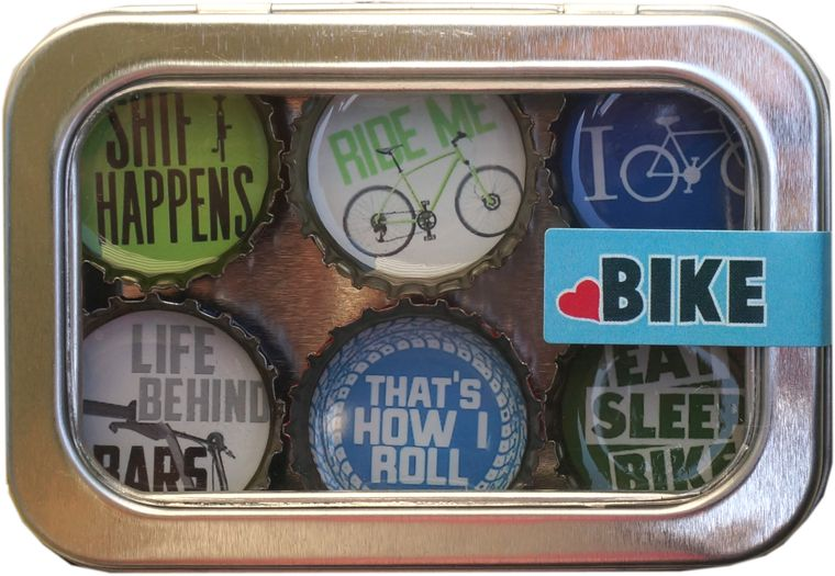 Bike Magnet - Six Pack