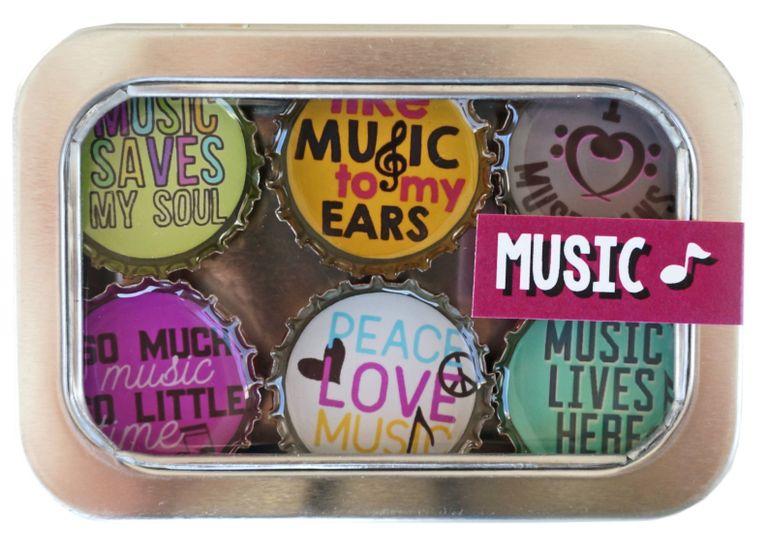 Music Magnet - Six Pack