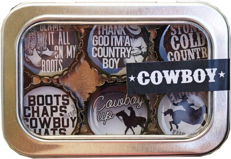 Cowboy Magnet - Six Pack