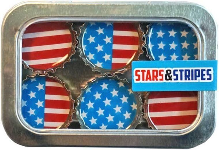 Stars & Stripes Magnet - Six Pack