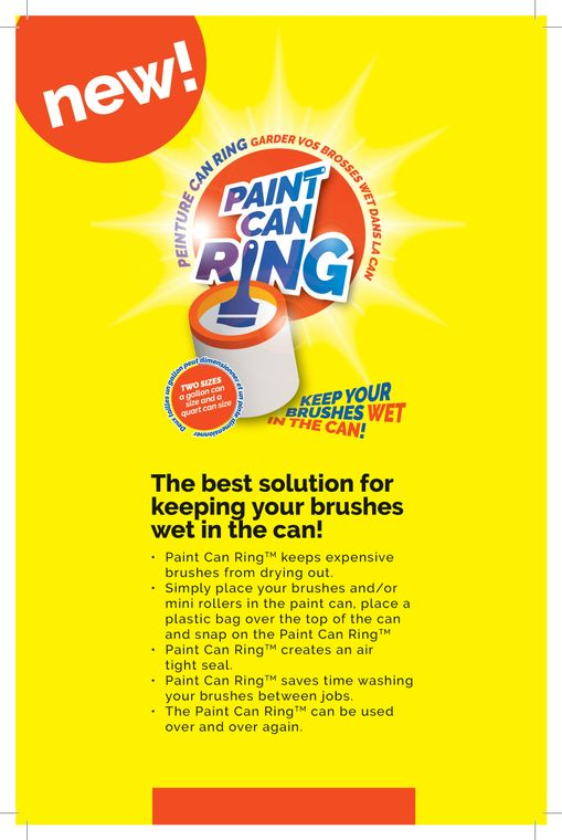 paint tray handles, paint can ring