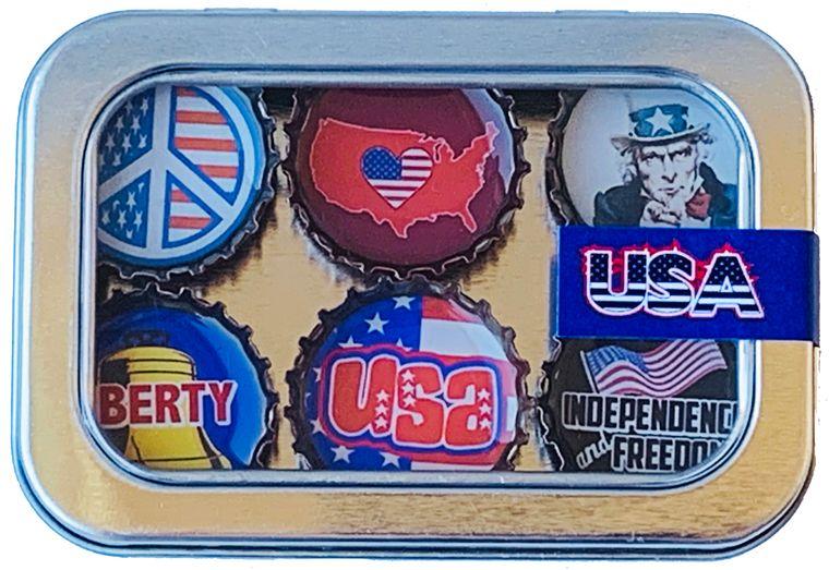 USA Magnet - Six Pack