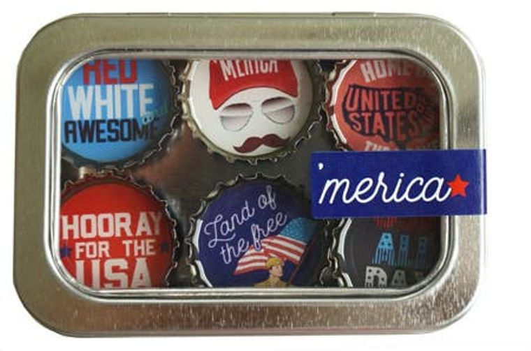 'Merica Magnet - Six Pack
