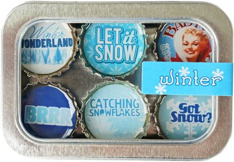 Winter Wonderland Magnet - Six Pack