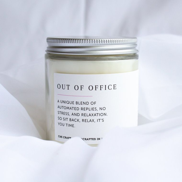 Out of Office Scented Soy Wax Candle