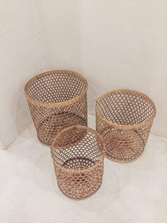 Bamboo Woven Baskets