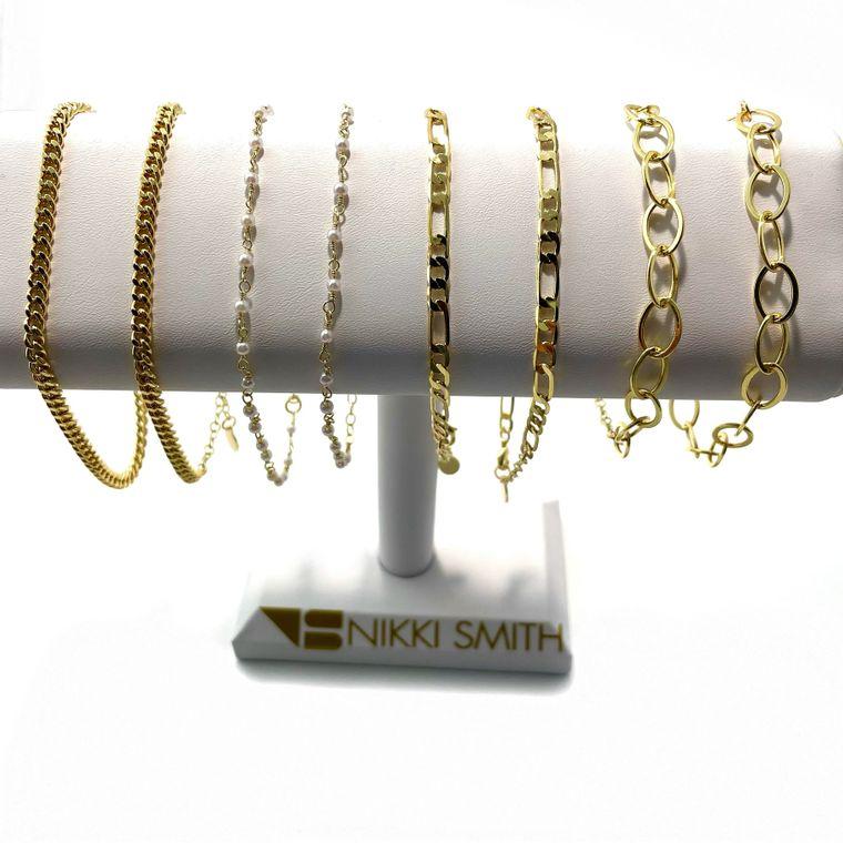 Gold Anklet Display