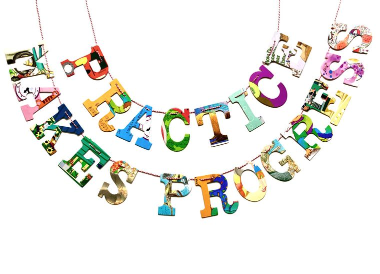 Phrase Garlands- Practice Makes Progress
