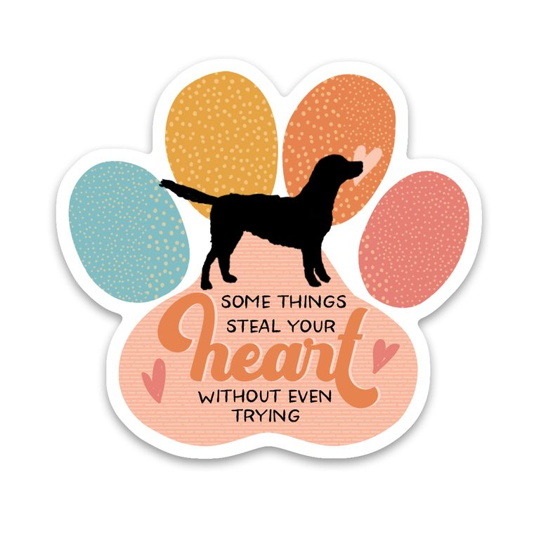 Sticker Dog Paw Steal Your Heart