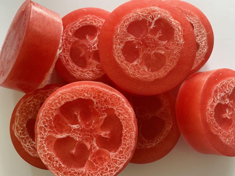 Grapefruit Paloma Glycerin Soap