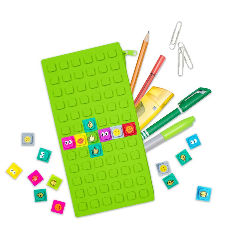 WAFF  Pencil Case Large With Cubes