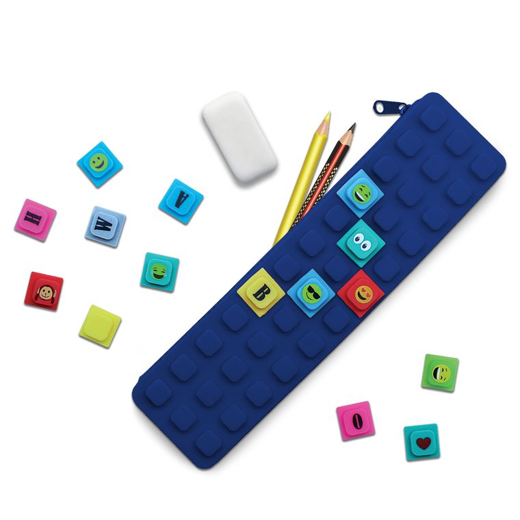 WAFF Pencil Case With Cubes