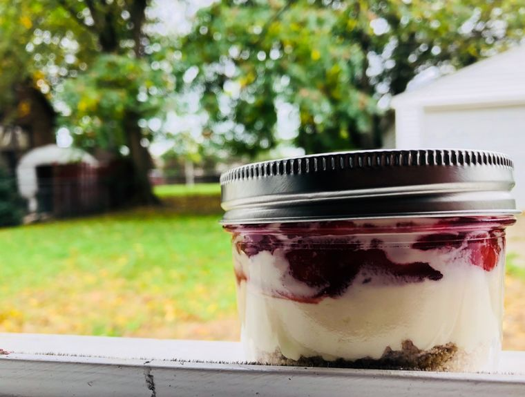 Foodies Cheese Cake in a Jar