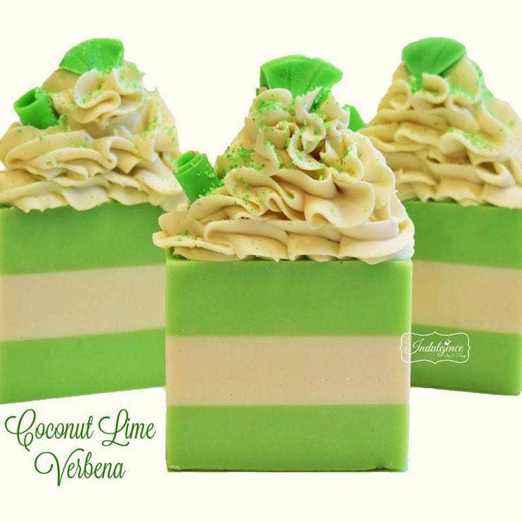 Coconut Lime Verbena Artisan Soap
