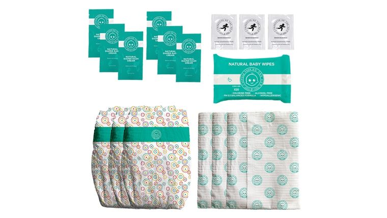 LOTTA POOP 1X COMPLETE DIAPER CHANGE SET (SIZE: SMALL)