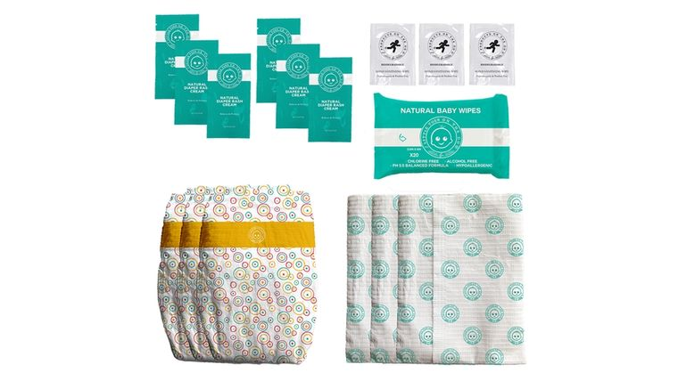LOTTA POOP 1X COMPLETE DIAPER CHANGE SET (SIZE: MEDIUM)