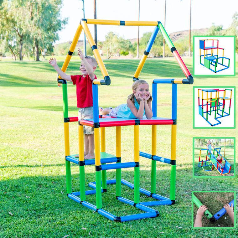 """Funphix Toys Create And Play Life Size Structures - """"Deluxe Set 296 PCS"""""""