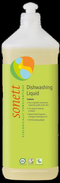 Sonett Eco Dishwashing Liquid Lemon 34 fl oz. / 1 Litre