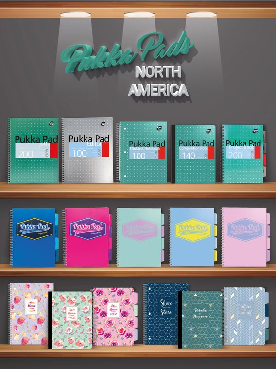 Notebook Product Ranges