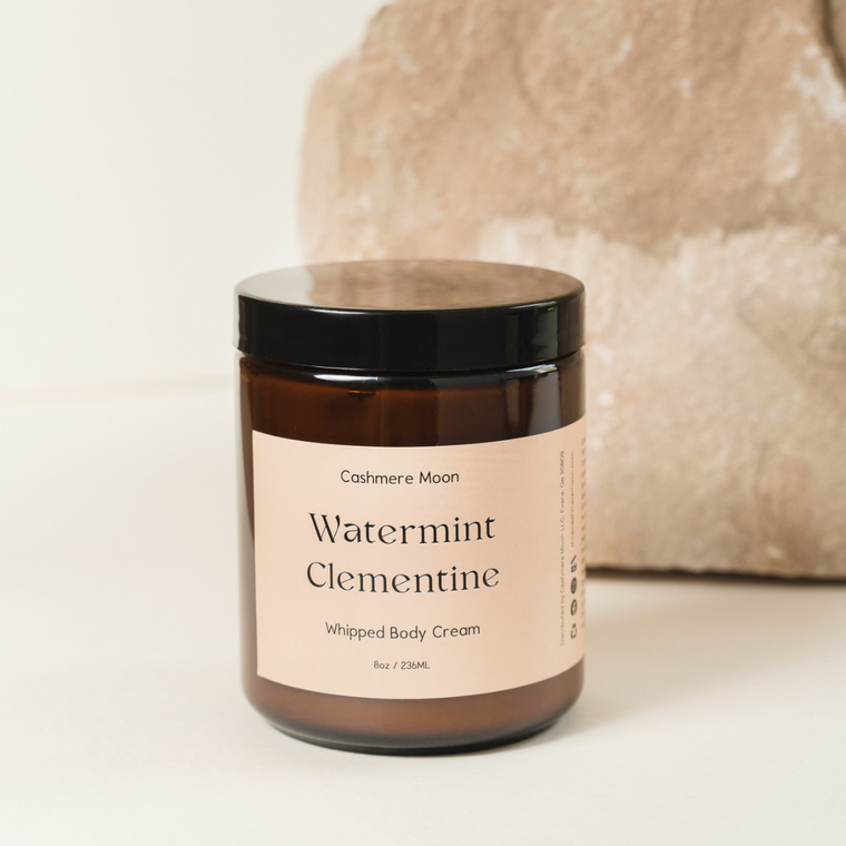 Watermint Clementine Whipped Body Cream
