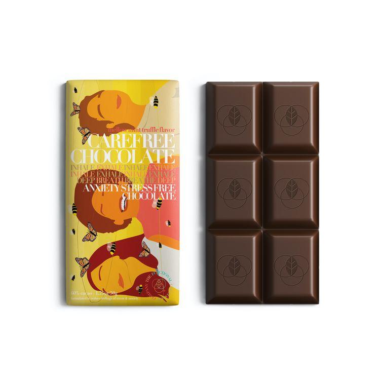 Carefree Chocolate - Stress & Anxiety Formula - Mellow Mint Truffle