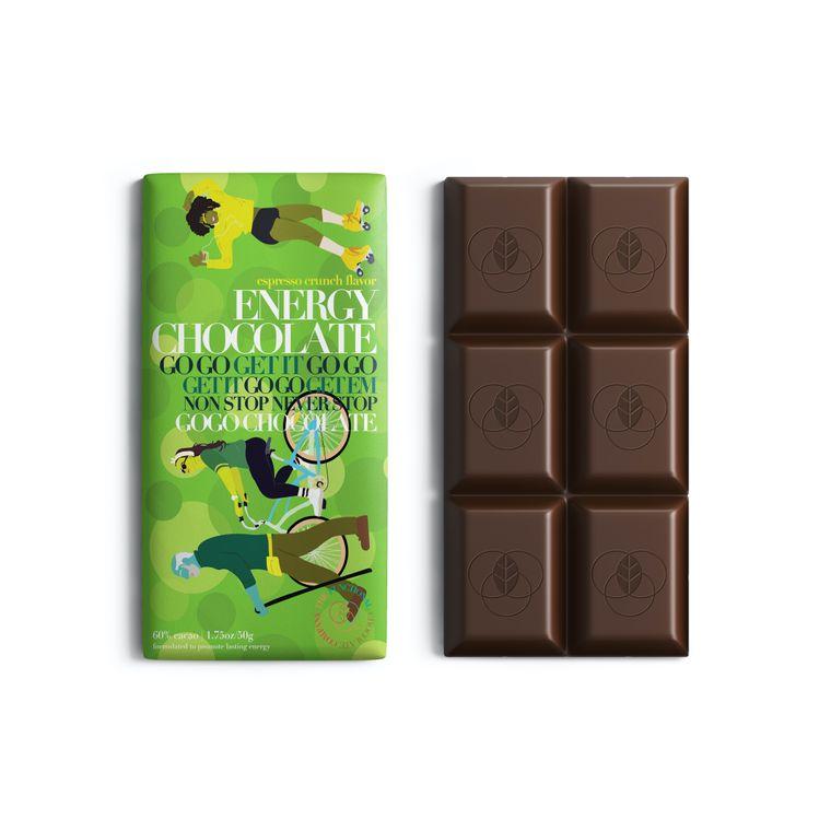 Energy Chocolate - Energy Formula - Espresso Crunch