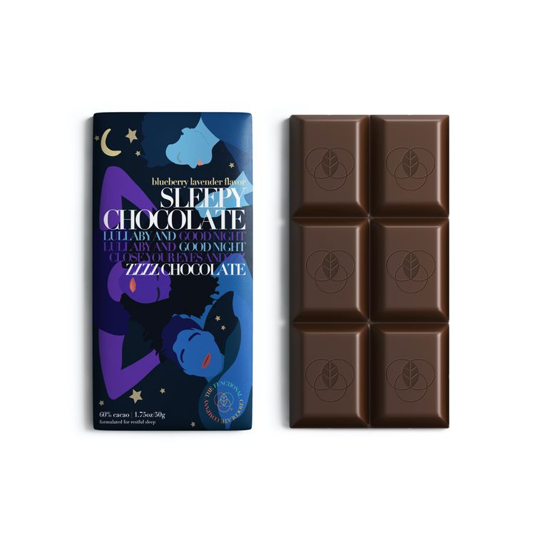 Sleepy Chocolate - Sleep Formula - Blueberry Lavender