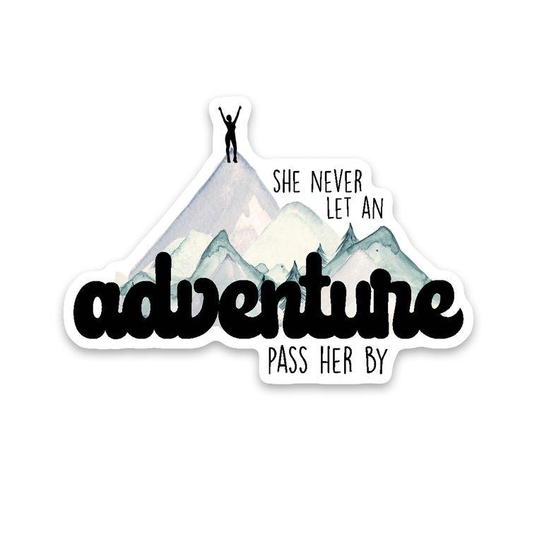 Sticker Adventure Girl