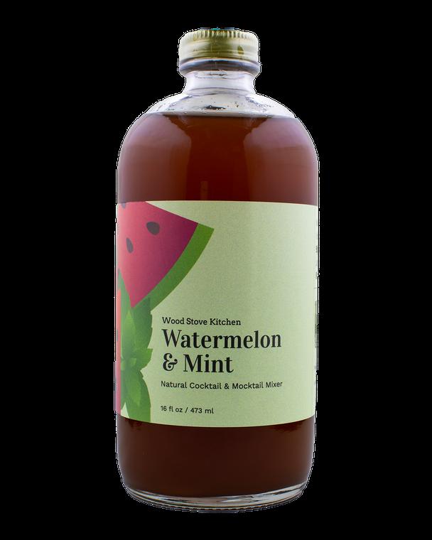 Watermelon & Mint Cocktail and Mocktail Mixer, 16 fl oz