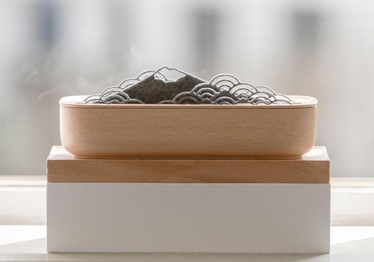 SanSui natural humidifier & bonsai
