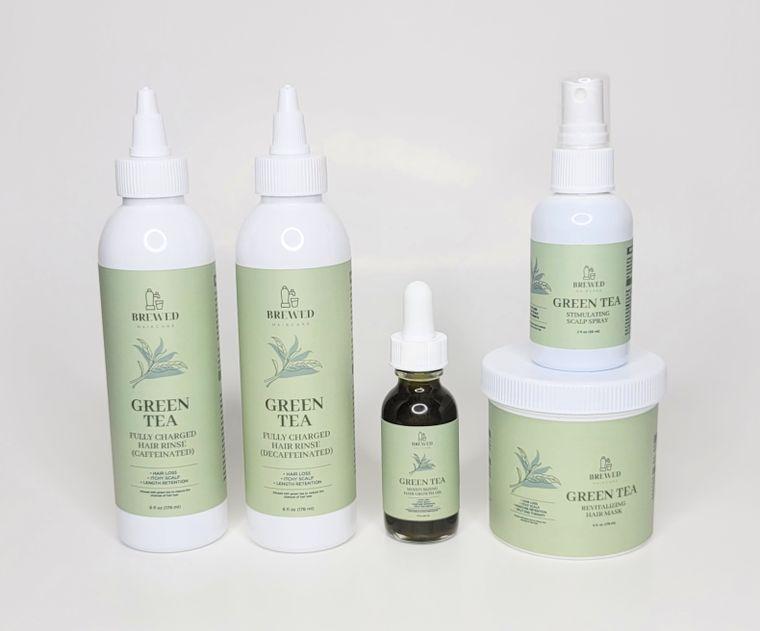 Green Tea Hair Growth & Rejuvenation Sample Kit