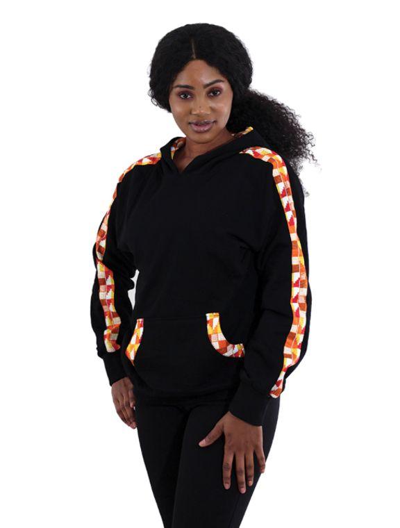 Kente hoodie