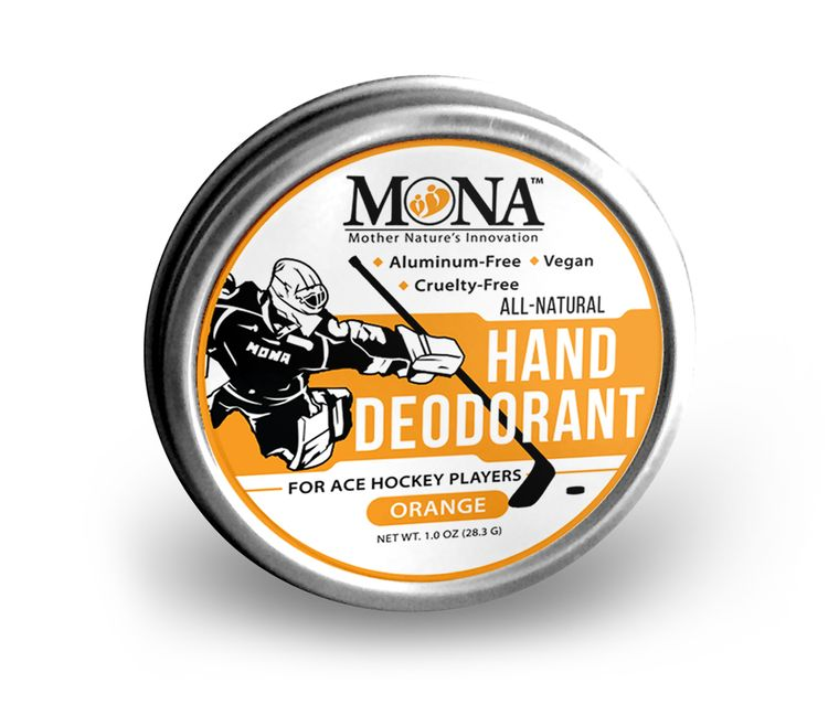 All Natural HAND DEODORANT for Ace Hockey Players | For athletes who wear gloves | Vegan Non-GMO 1oz